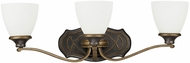 Capital Lighting 8013SY-123 Wyatt Surrey 3-Light Bathroom Light Sconce