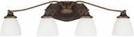 Capital Lighting 8014SY-123 Wyatt Surrey 4-Light Bathroom Lighting Sconce