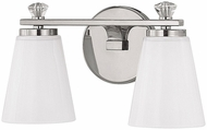 Capital Lighting 8022PN-127 Alisa Polished Nickel 2-Light Bathroom Sconce Lighting