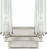 Capital Lighting 8042BN-150 Emery Contemporary Brushed Nickel 2-Light Lighting For Bathroom