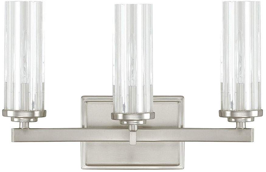 Capital Lighting 8043BN 150 Emery Modern Brushed Nickel 3 Light Bath  Lighting. Loading Zoom