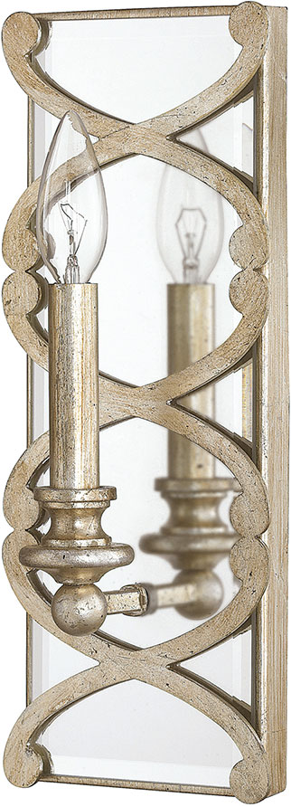 Winter Gold Wall Sconces : Capital Lighting 8061WG Alexander Winter Gold Wall Light Sconce - CPT-8061WG