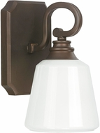 Capital Lighting 8111BB-300 Leigh Burnished Bronze Wall Sconce