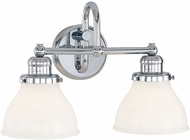 Capital Lighting 8302CH-128 Baxter Chrome Bathroom Light Fixture
