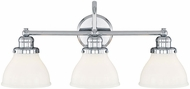 Capital Lighting 8303CH-128 Baxter Chrome Bathroom Vanity Lighting