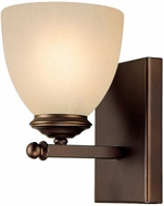 Capital Lighting 8401BB-201 Chapman Burnished Bronze Wall Light Fixture