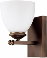 Capital Lighting 8401BB-202 Chapman Burnished Bronze Lighting Wall Sconce
