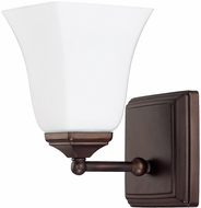 Capital Lighting 8451BB-119 Burnished Bronze Wall Lighting Fixture