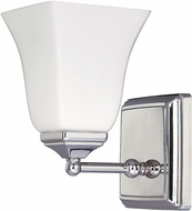Capital Lighting 8451PN-119 Polished Nickel Wall Sconce Light