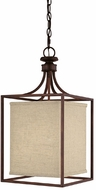 Capital Lighting 9046BB-462 Midtown Burnished Bronze Entryway Light Fixture