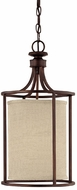 Capital Lighting 9047BB-477 Midtown Burnished Bronze Entryway Light Fixture