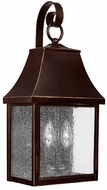 Capital Lighting 9062NB Collins Hill New Bronze Exterior Wall Mounted Lamp