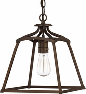 Capital Lighting 9101BB Burnished Bronze Foyer Light Fixture