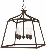 Capital Lighting 9102BB Burnished Bronze Foyer Lighting Fixture