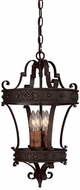 Capital Lighting 9354RI River Crest Traditional Rustic Iron Foyer Lighting