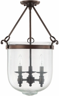 Capital Lighting 9401BB Covington Burnished Bronze Entryway Light Fixture