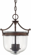Capital Lighting 9411BB Covington Burnished Bronze Foyer Light Fixture