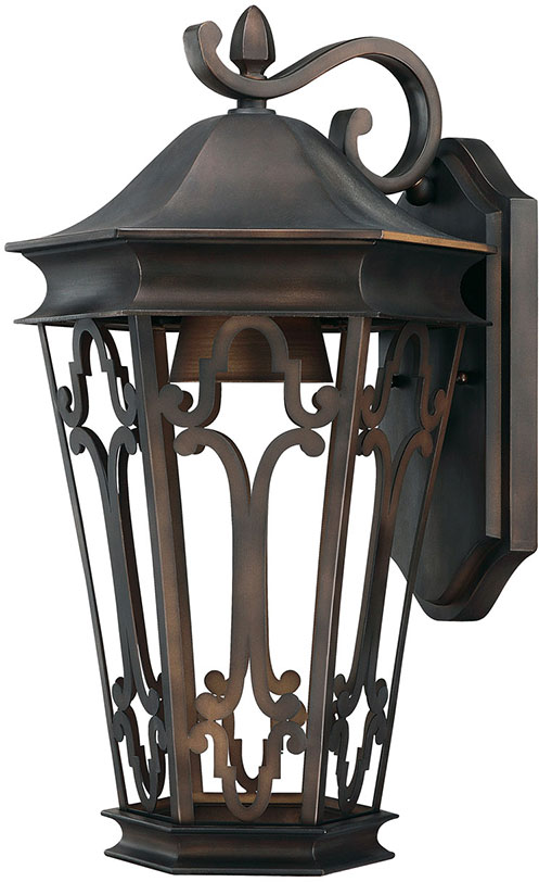 Capital Lighting 9442OB Dark Sky Traditional Old Bronze Outdoor Lighting  Wall Sconce. Loading Zoom