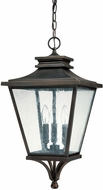 Capital Lighting 9465OB Gentry Traditional Old Bronze Outdoor Pendant Light