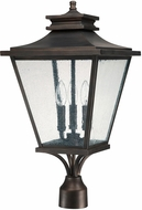 Capital Lighting 9466OB Gentry Traditional Old Bronze Exterior Post Light