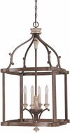 Capital Lighting 9473FO Chateau Traditional French Oak Foyer Lighting