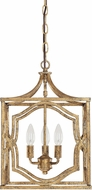Capital Lighting 9481AG Blakely Antique Gold Foyer Light Fixture