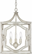 Capital Lighting 9481AS Blakely Antique Silver Foyer Lighting Fixture