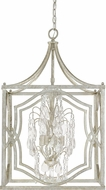 Capital Lighting 9482AS-CR Blakely Antique Silver Foyer Lighting Fixture