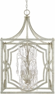 Capital Lighting 9483AS-CR Blakely Antique Silver Foyer Light Fixture