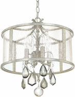 Capital Lighting 9484AS-PC Blakely Antique Silver Hanging Lamp