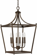 Capital Lighting 9552BB Stanton Burnished Bronze Foyer Lighting Fixture