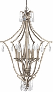 Capital Lighting 9592MY-CR Montclaire Traditional Mystic Foyer Light Fixture