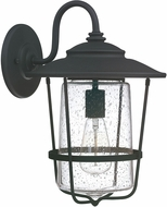 Capital Lighting 9602BK Creekside Black Outdoor Lighting Sconce