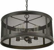 Capital Lighting 9618OB Dylan Old Bronze Outdoor Pendant Hanging Light