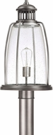 Capital Lighting 9635GR Harbour Nautical Graphite Exterior Lamp Post Light Fixture