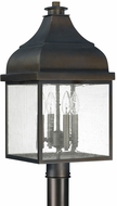 Capital Lighting 9645OB Westridge Old Bronze Outdoor Pole Lighting Fixture