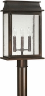 Capital Lighting 9665OB Bolton Old Bronze Exterior Post Lighting