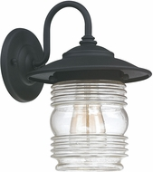 Capital Lighting 9671BK Creekside Black Exterior Wall Lighting Sconce