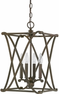 Capital Lighting 9691BB Alexander Burnished Bronze Foyer Light Fixture