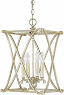 Capital Lighting 9691WG Alexander Winter Gold Foyer Lighting Fixture