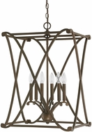 Capital Lighting 9692BB Alexander Burnished Bronze Entryway Light Fixture