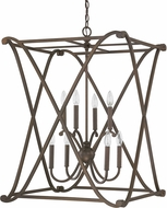 Capital Lighting 9693BB Alexander Burnished Bronze Foyer Light Fixture
