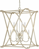 Capital Lighting 9693WG Alexander Winter Gold Foyer Lighting Fixture