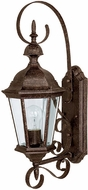 Capital Lighting 9721TS Carriage House Traditional Tortoise Outdoor Wall Light Sconce