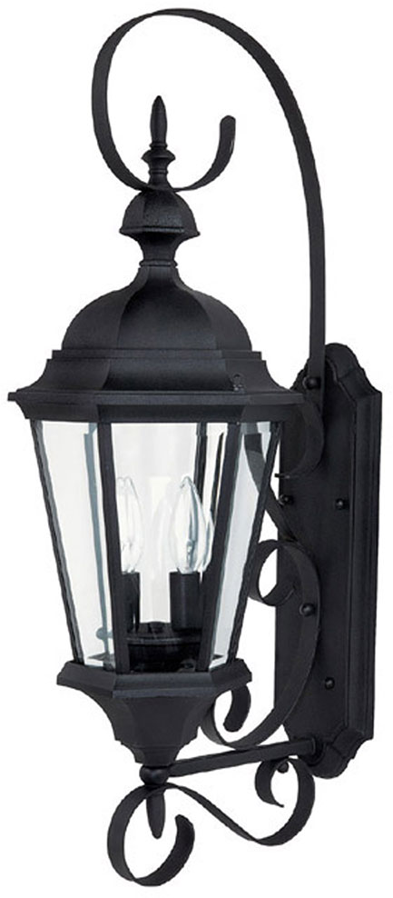 Capital lighting 9722bk carriage house traditional black exterior wall sconce light cpt 9722bk Exterior carriage house lights
