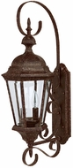 Capital Lighting 9722TS Carriage House Traditional Tortoise Outdoor Wall Sconce