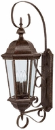 Capital Lighting 9723TS Carriage House Traditional Tortoise Outdoor Wall Lighting