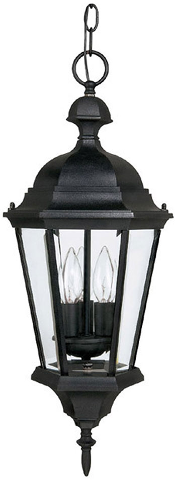 Capital lighting 9724bk carriage house traditional black exterior pendant lighting cpt 9724bk Exterior carriage house lights
