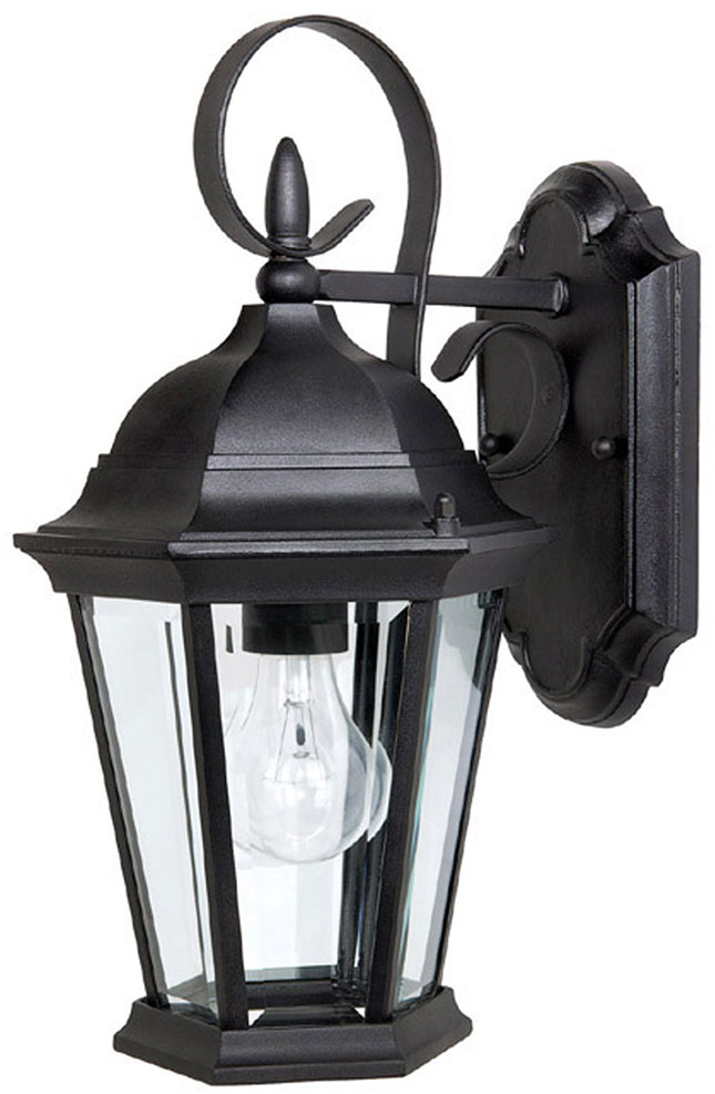 Capital lighting 9726bk carriage house traditional black exterior sconce lighting cpt 9726bk for Carriage house exterior lights