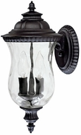 Capital Lighting 9781BK Ashford Traditional Black Exterior Lighting Sconce